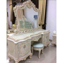 Стол  туалетный с зеркалом в стиле барокко Флоренция 8299, Китай