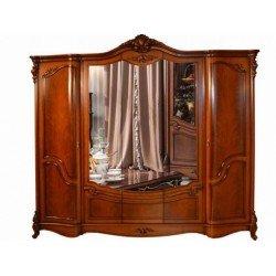 Пятидверный распашной шкаф для одежды Каролина, Китай