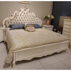 Элитная кровать с мягким изголовьем Провен, Топ мебель