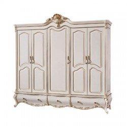Пятидверный шкаф в спальню Провен
