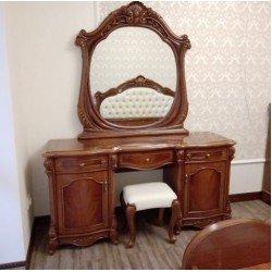 Стол туалетный с зеркалом для спальни Каролина, Китай