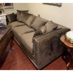 Мягкий прямой диван без раскладки, Империал VI-117-3S