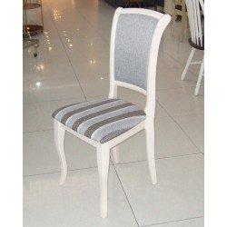 Белый стул с прямой спинкой Милано, Малайзия