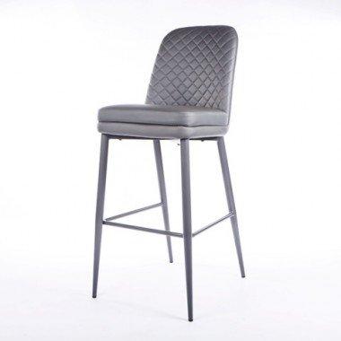 Серый дизайнерский стул Эдинбург для бара