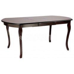 Обеденный коричневый стол Аликанте в классическом стиле