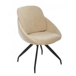 Мягкий комфортный стул R-65 в молочном цвете