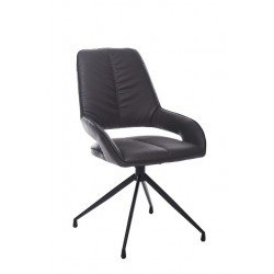 Мягкий поворотный стул из эко-кожи R - 70