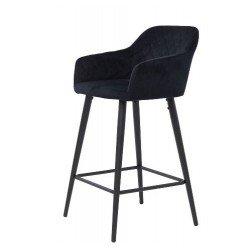 Велюровый барный стул Антиба