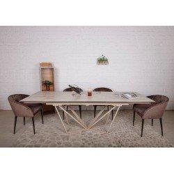 Большой раскладной стол Ноттингем (NOTTINGHAM) в стиле модерн