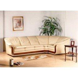 Угловая модель дивана для гостиной с раскладкой Оникс