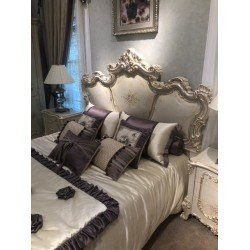 Резная кровать 1800 для спальни Флоренция Люкс, Китай