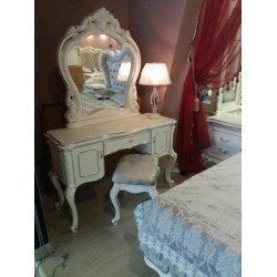 Белый туалетный столик в стиле барокко Версаль, Энигма