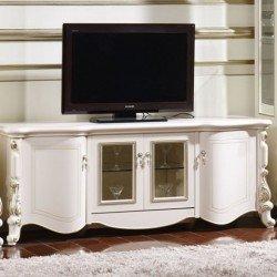 Белая ТВ тумба в гостиную Беатриче 6017, Китай