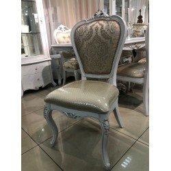 Белый мягкий классический стул С-12, Китай