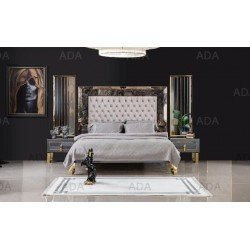 Современная двухспальная кровать Класс