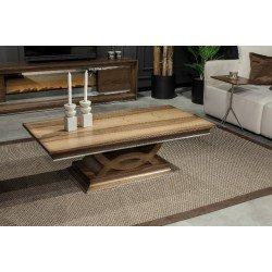 Деревянный прямоугольный столик Генова
