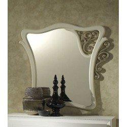 Зеркало Шанель с декором