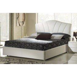 Белая классическая кровать 1600 Лисбона коллекция Шанель