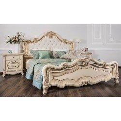 Кровать 1800 Венеция с мягким изголовьем
