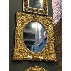 Зеркало декоративное в золотой раме 301 в стиле барокко