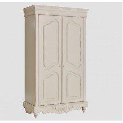 Белый шкаф в стиле Прованс
