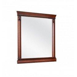 Прямоугольное зеркало в деревянной раме в спальню Анжелика