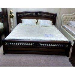 Кровать 1600 из натурального дерева Доминика