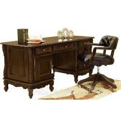 Ореховый письменный стол Регал в классическом стиле