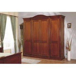 Четырехдверный шкаф без зеркал Венеция, Симекс