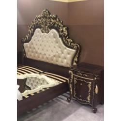 Большая королевская кровать 1800 Афина