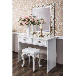 Белый туалетный столик Белла