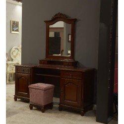 Туалетный столик с зеркалом для спальни Элипс, Симекс