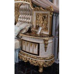 Прикроватная тумбочка в стиле барокко для спальни Роял