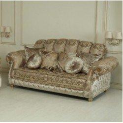 Трехместный диван Елена в стиле классика