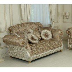 Двухместный раскладной диван Елена