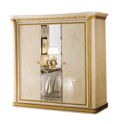 Трехдверный шкаф с зеркалом Мелодия