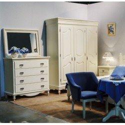 Шкаф для одежды на 3 двери для спальни Люберон