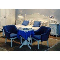 Двухспальная кровать 1600 Люберон в стиле Прованс