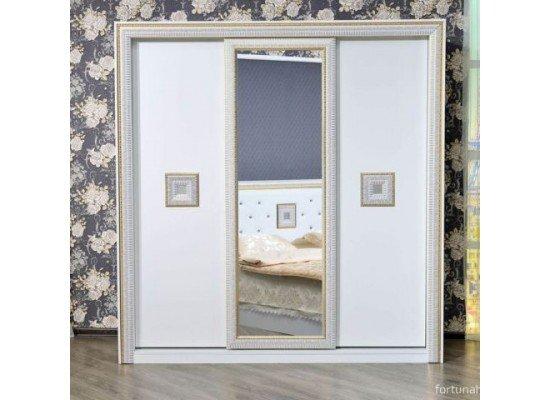 Шкаф-купе 3 двери Богемия, Фортуна Мебель