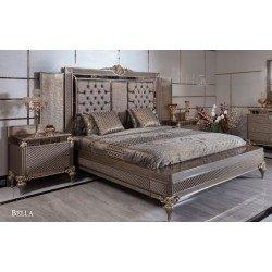 Большая кровать 1800 Белла в стиле АРТ-Деко, АКМ