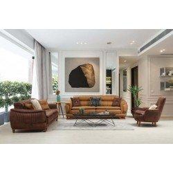 Кожаный диван Бянко, BELLA