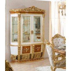 Двухдверная витрина в стиле барокко Шахеризада, BIC