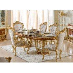 Классический обеденный стол в слиле барокко Шахеризада, BIC