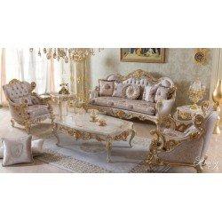 Мягкий комплект классической мебели Дейси, BIC