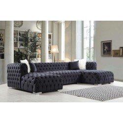 Большой диван в стиле капитоне Нью-Йорк (New York), BELLA