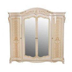 Классический резной шкаф для спальни Афина.
