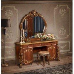 Туалетный столик с резным зеркалом Амелия