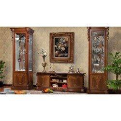 Стенка в гостиную в классическом стиле Ева