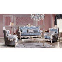 Комплект мягкой мебели в стиле барокко Розалина, СКФМ