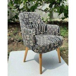 Мягкое кресло в этническом стиле Этна